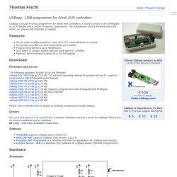 USBasp - USB programmer for Atmel AVR controllers