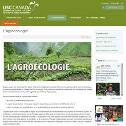 USC Canada - FR - L'agroécologie