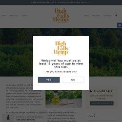 USDA Hemp Rules - High Falls Hemp