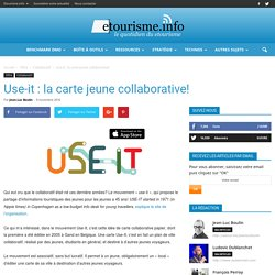 Use-it : la carte jeune collaborative!