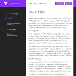 Use Cases - Terraform