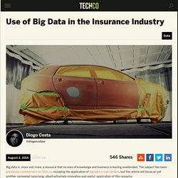 Use of Big Data in the Insurance Industry