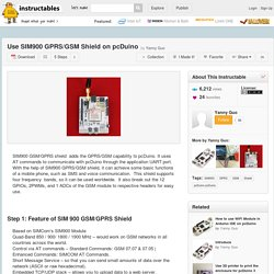 Use SIM900 GPRS/GSM Shield on pcDuino