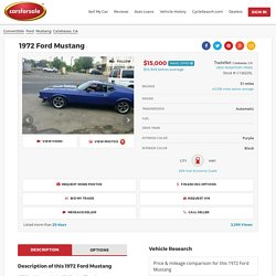 Used 1972 Ford Mustang For Sale