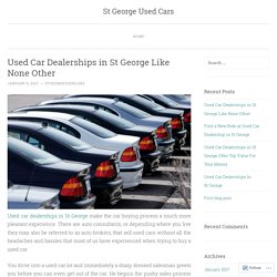 St George Used Cars