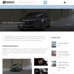 Used Mazda Mazda 6 for Sale Near Me
