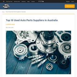 Ued Car Parts - CarpartAU