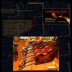 Used Student Violins