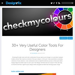 30+ Very Useful Color Tools For Designers