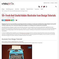 50 Fresh And Useful Adobe Illustrator Icon Design Tutorials - Noupe Design Blog