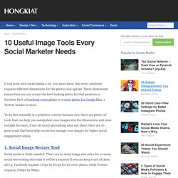 10 Useful Image Tools Every Social Marketer Needs - Hongkiat