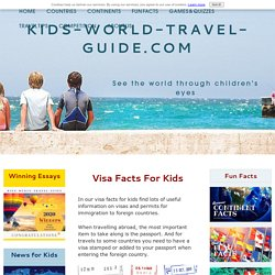 Visa Facts for Kids: Useful Information on Visas and Permits