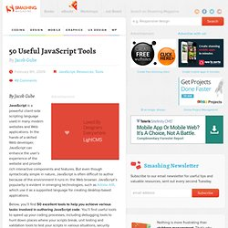 50 Useful JavaScript Tools - Smashing Magazine