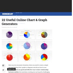 22 Useful Online Chart & Graph Generators