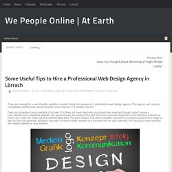 Some Useful Tips to Hire a Professional Web Design Agency in Lörrach