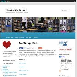 Heart of the School