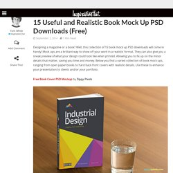 15 Useful and Realistic Book Mock Up PSD Downloads (Free)