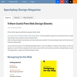 9 More Useful and Free Downloadable Web Design Books