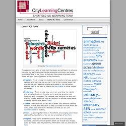 Sheffield CLCs Blog