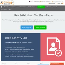 User Activity Log – Free WordPress Plugin