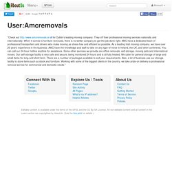 User:Amcremovals