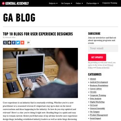 Top 10 User Experience Design Blogs