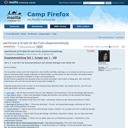 Thema anzeigen - userChrome.js Scripte für den Fuchs (Zusammenstellung)