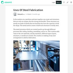 Significance of Steel Fabrication