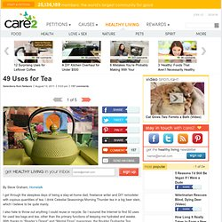 49 Uses for Tea