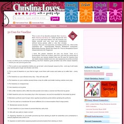 Christina Loves... - StumbleUpon