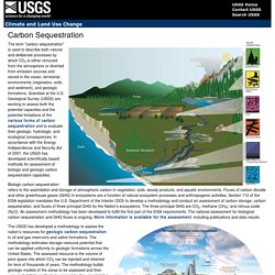 USGS_GOV 30/11/16 Carbon Sequestration
