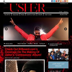 Usher Official Website | Latest Usher News & Media