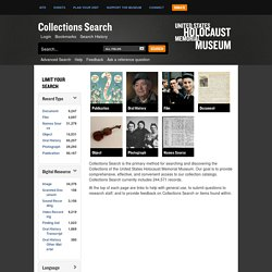 USHMM Collections Search