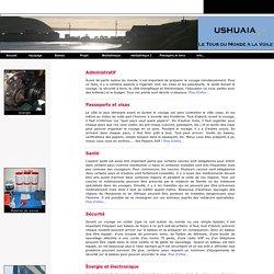 Ushuaia - tour du monde à la voile