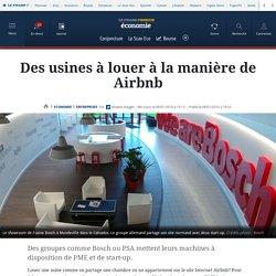 Des usines à louer à la manière de Airbnb