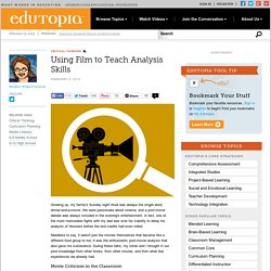 Using Film to Teach Analysis Skills