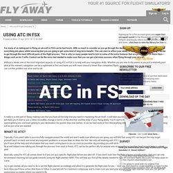 Using ATC in FSX