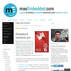Using AVR Studio 5 « maxEmbedded