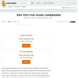 Pro Tips for Using Cardboard: 6 Steps (with Pictures)