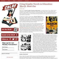 Using Graphic Novels in Education: March: Book One
