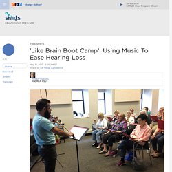 Using Music To Boost Hearing In Noisy Environments