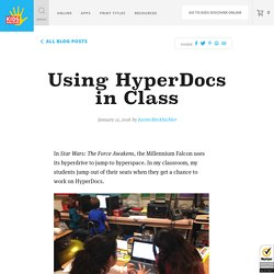 Using HyperDocs in Class - Kids Discover
