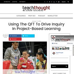 Using The QFT To Drive Inquiry In Project-Based Learning - TeachThought PD