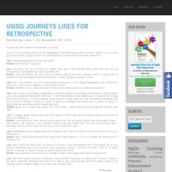 Using Journeys Lines for Retrospective « Luis Gonçalves – Blog