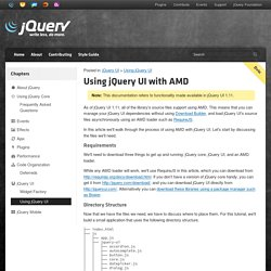 Using jQuery UI with AMD
