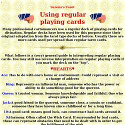 Using Regular Playing Cards