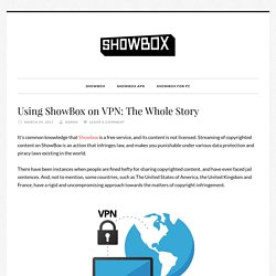Using ShowBox on VPN: The Whole Story