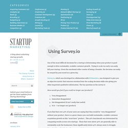 Using Survey.io