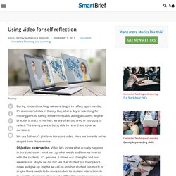 Using video for self reflection