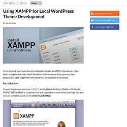 Using XAMPP for Local WordPress Theme Development
